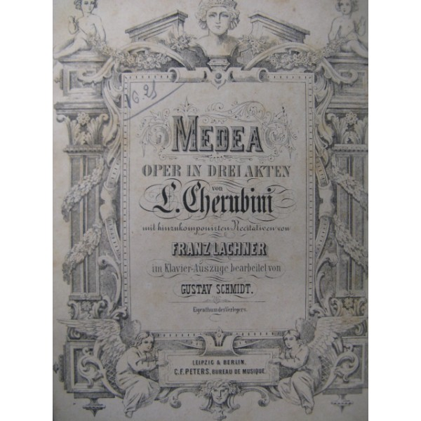 Опера Керубини, 7 букв, 6 буква «О», сканворд