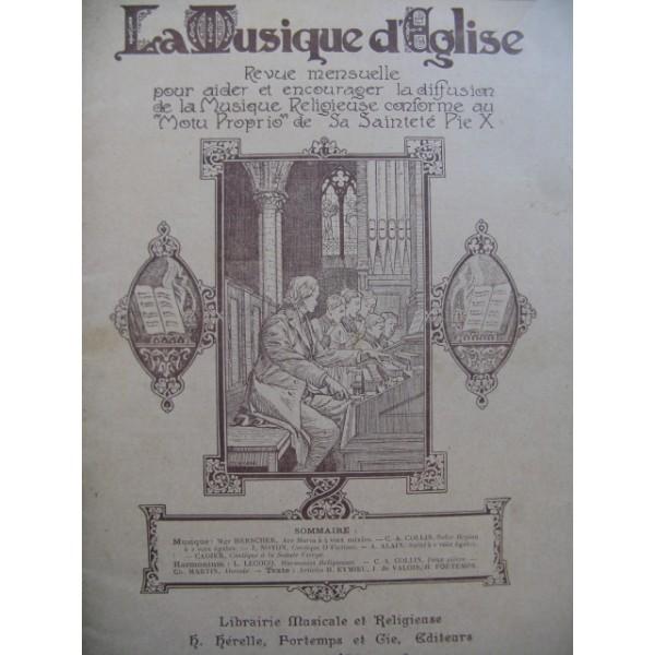 partition musique d eglise