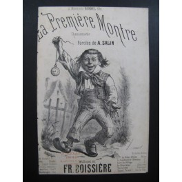 BOISSIÈRE Frédéric La Première Montre Chant XIXe