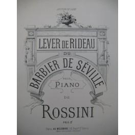 ROSSINI Lever de Rideau Piano XIXe siècle