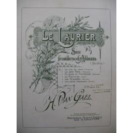 VAN GAEL Henri La Voix du Cœur Piano ca 1895