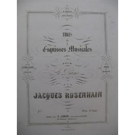 ROSENHAIN Jacques Béatrice Di Tenda Piano ca 1860
