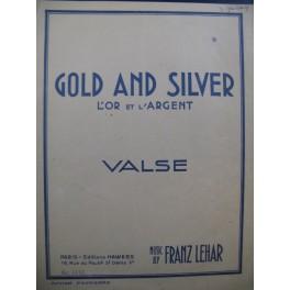 LEHAR Franz Gold And Silver Piano