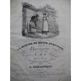 ROMAGNESI Antoine La Diseuse de Bonne Aventure Chant Piano ou Harpe ca1830