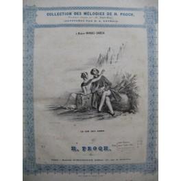 PROCH H. Le Cor des Alpes Chant Piano ca1840
