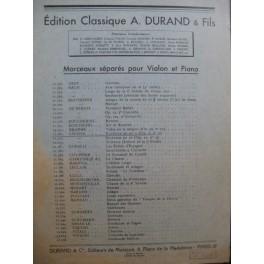 CHOPIN Frédéric Nocturne op 9 No 2 Violon Piano 1947