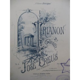 CREUS José Trianon Piano XIXe siècle