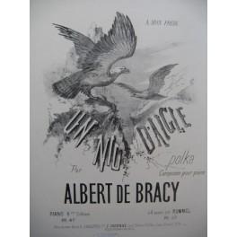 DE BRACY Albert Un Nid d'Aigle Piano XIXe siècle