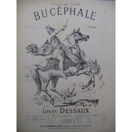 DESSAUX Louis Bucéphale Piano XIXe siècle