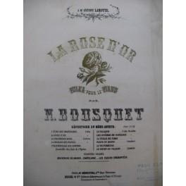 BOUSQUET N. La Rose d'Or Piano XIXe siècle