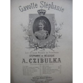 CZIBULKA A. Gavotte Stéphanie Piano
