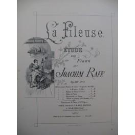 RAFF Joachim La Fileuse Piano XIXe siècle
