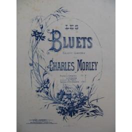 MORLEY Charles Les Bluets Piano 4 mains ca1880