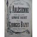 BIZET Georges L'Arlésienne Opéra Chant Piano 1873