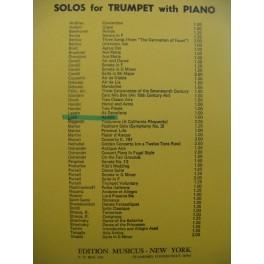 LOTTI Antonio Arietta Piano Cornet 1959