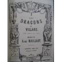 MAILLART Aimé Les Dragons de Villars Opéra Piano solo ca1860