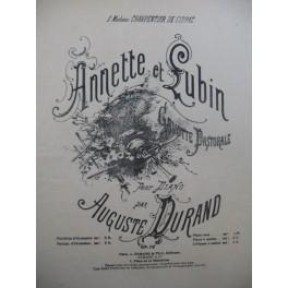 DURAND Auguste Annette et Lubin Piano