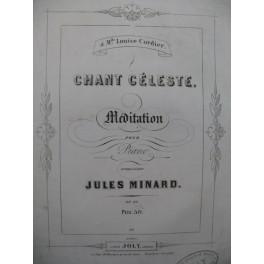 MINARD Jules Chant Céleste Piano XIXe siècle