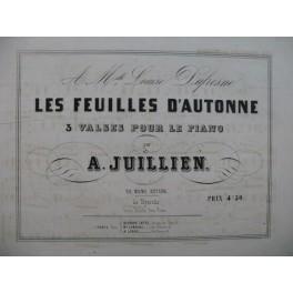 JUILLIEN A. Les Feuilles d'Autonne Piano XIXe siècle