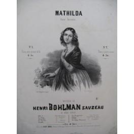 BOHLMAN Henri Mathilda Piano 1843