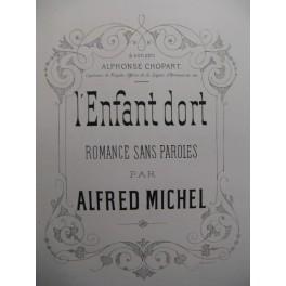 MICHEL Alfred L'Enfant dort