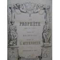 MEYERBEER G. Le Prophète Opéra Chant Piano XIXe