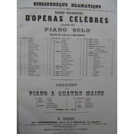 DONIZETTI G. Caterina Cornaro Opera Piano solo XIXe