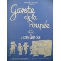 STREABBOG L. Gavotte de la Poupée Piano 1954