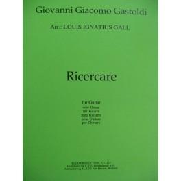 GASTOLDI Giovanni Giacomo Ricercare Guitare 1997