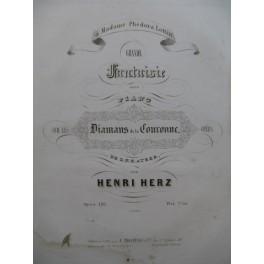 HERZ Henri Grande Fantaisie Piano ca1843