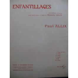 ALLIX Paul Enfantillages Piano ca1920