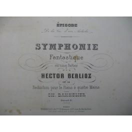 BERLIOZ Hector Symphonie Fantastique Piano 4 mains 1878