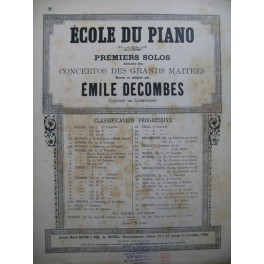 DUSSEK J. L. 5e Concerto 1er Solo Piano XIXe