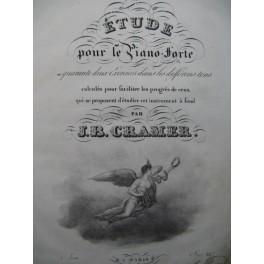 CRAMER Jean-Baptiste Etude 84 Exercices Piano ca1825
