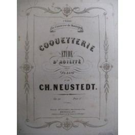 NEUSTEDT Charles Coquetterie op 10