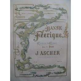 ASCHER Joseph Danse Féerique Piano ca1858