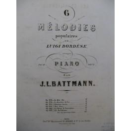 BATTMANN J. L. Les Brésiliennes Piano 1864