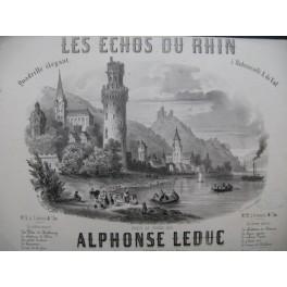 LEDUC Alphonse Les Echos du Rhin Piano 1858