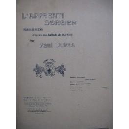 DUKAS Paul L'Apprenti Sorcier Orchestre