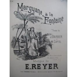 REYER E. La Statue No 2 Margyane à la Fontaine Chant Piano