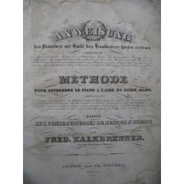 KALKBRENNER Frédéric Anweisung Méthode Piano ca1835