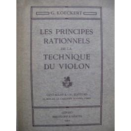 KOECKERT G. Les Principes Rationnels de Technique du Violon 1904