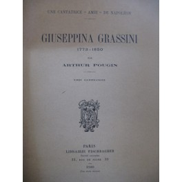 POUGIN Arthur Giuseppina Grassini 1920