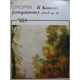 CHOPIN Frédéric Concerto No 2 op 21 Piano Orchestre