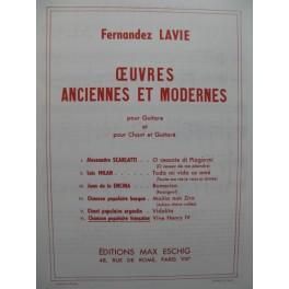 Vive Henry IV Chanson Française Chant Guitare
