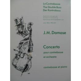 DAMASE Jean-Michel Concerto Contrebasse Piano