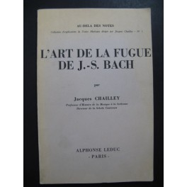 CHAILLEY Jacques L'Art de la Fugue de J. S. Bach 1976