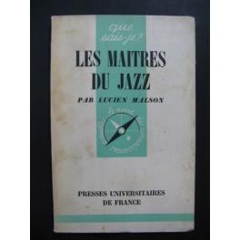 MALSON Lucien Les Maîtres du Jazz 1955