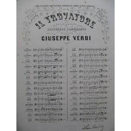 VERDI Giuseppe Il Trovatore No 13 Aria Chant Piano ca1860