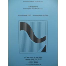 PERGOLESI G. B. Siciliano Flûte Harpe 1989